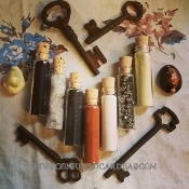 7 Mineral Sample Set-Protection, Luck, Power, Hexing, Drawing