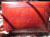 1 Leather Altar Box with Hoodoo Haul-From Mali-Large-OOAK