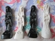 White 3 In. Santa Muerte Statue with Oil-Miracles, Health, Love