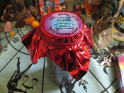 """Tame a Lady's Man"" Palm Oil Candle WITH Spell Instructions"