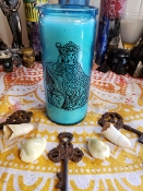 1 Empress Tarot Energy Vigil Candle.