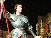 Joan of Arc Feast Day-May 30th- Divine Guidance, Strength