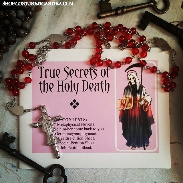 Santa Muerte Prayer Booklet-Health, Money, Love, Employment